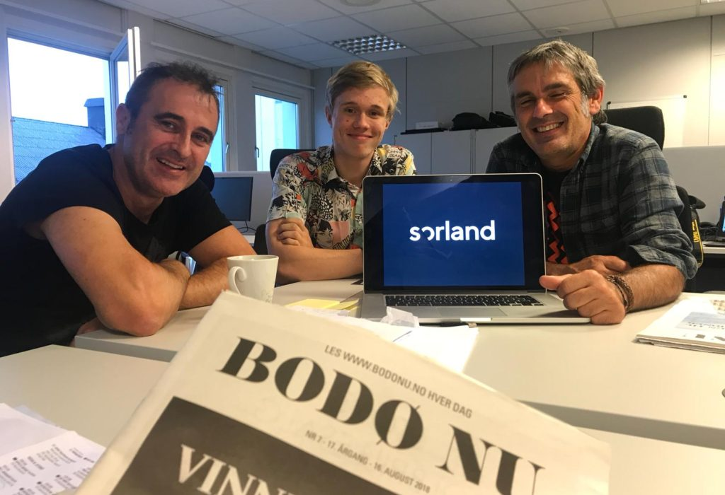 Sorlandetik  Sørlandera:  Bodøtik  igaroz