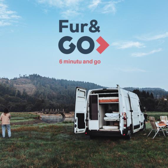 FUR&GO,  furgoneta  arruntak  kanper  bihurtuta